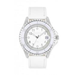 Bergmann-Uhr Modell 1986 weiß