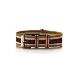 Nato Armband Textil Ouro...