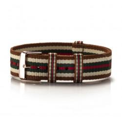 Nato Armband Textil Beige...