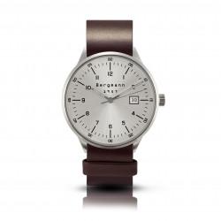 Bergmann Uhr 1957 braunes...