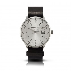 Bergmann Uhr 1957 schwarzes...