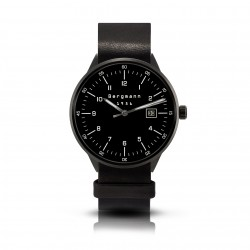 Bergmann-watch 1957 black,...