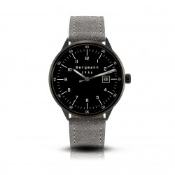 Bergmann Uhr 1956 Schwarz...