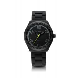 Bergmann-Uhr 2020 schwarz Silikon