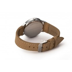 Original Bergmann Cor Sand Wildlederarmband 18 mm