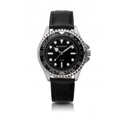 Bergmann-Uhr Modell 1982 schwarz