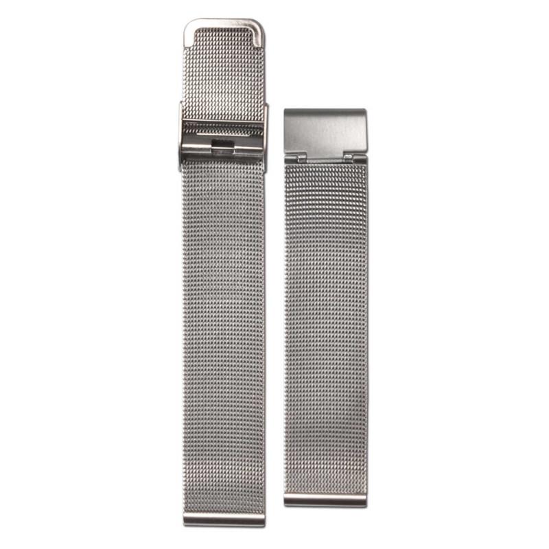 Textil-Armband braun-weiß