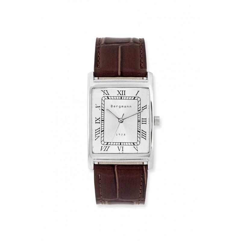 Bergmann-Uhr Modell 1928 Echtleder